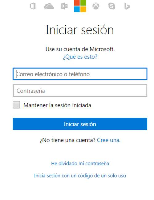 hotmail outlook correo electronico iniciar sesion